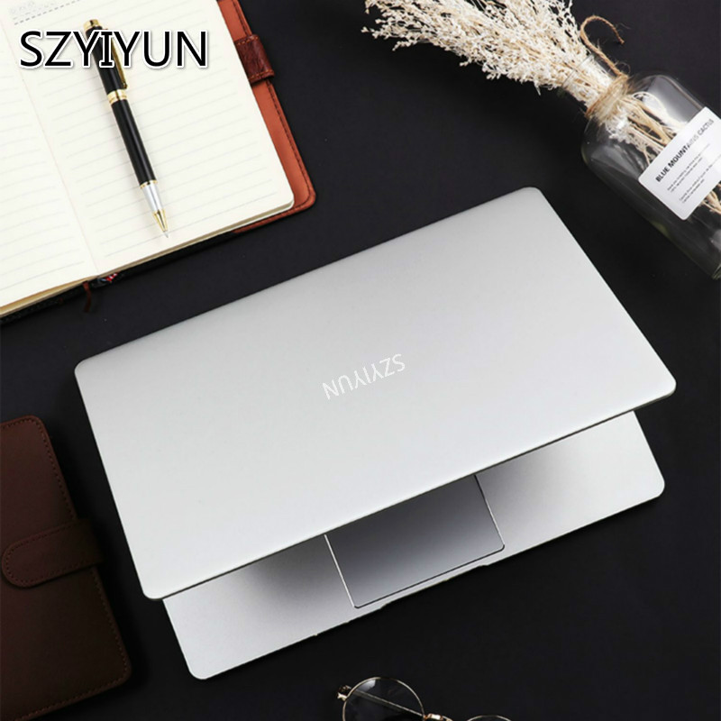 J4105 14 Inch Ultra-thin Laptop 8G RAM Portable Ultrabook Business Office Netbook 1080P IPS Metal Notebook Student PC Computer