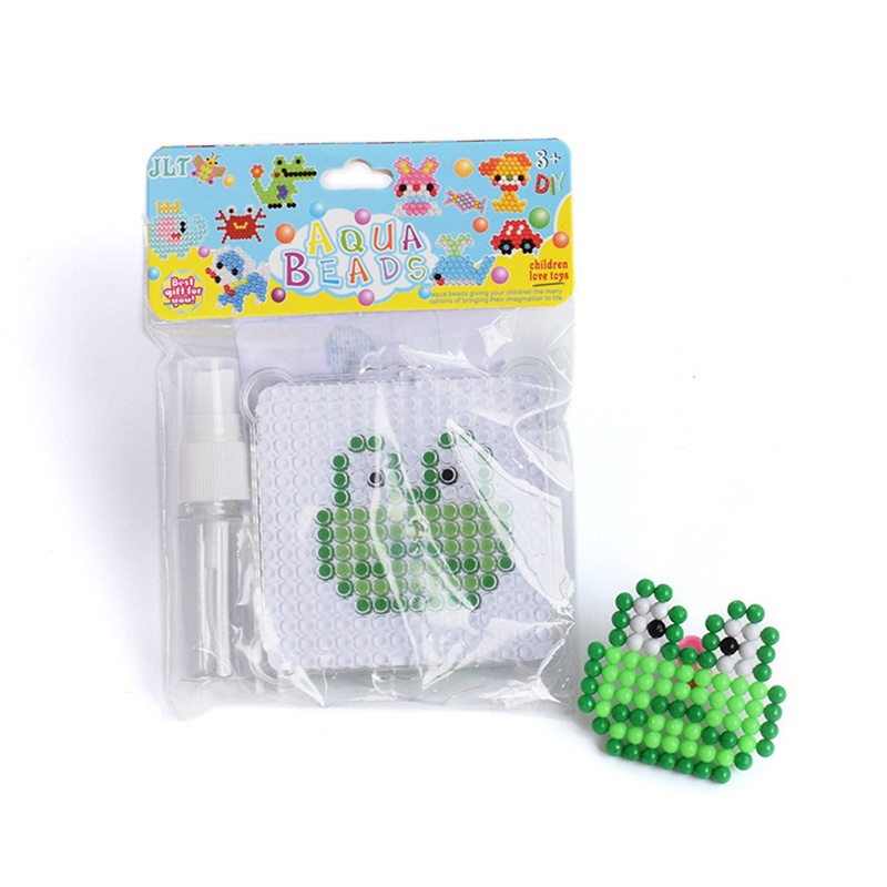 Water Mist Magic Beads DIY Set Learning Toys For Children Forg 3D Molds Puzzle Hand Making Toy Kids Educational Toys Model