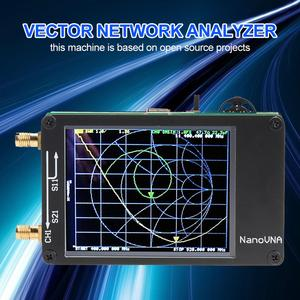 2.8 Inch Nano VNA Digital Antenna Analyzer MF HF VHF UHF 50KHz-900MHz Vector Network Digital Shortwave Antenna Meter Tester(China)