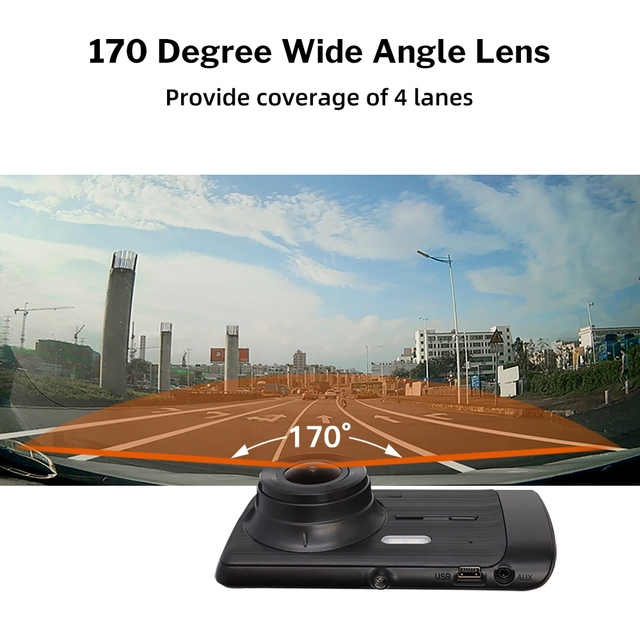 Deelife Dash Cam Car DVR Camera Full HD 1080P Drive Video Recorder Registrator Auto Dashboard 1296P Dual Dashcam Black DVRs Box 3
