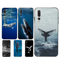 Ocean Whale Shark Waves Case for Huawei Honor 7A 20 Pro 10i 8X 9X 9 10 Lite 7C 8A 8C 8S Y6 Y9 Y7 2019 Nova 5T