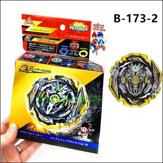 Authentic Takara Tomy Beyblade B-173 02 Infinite Achilles 7 Loop 1D CONFIRMED