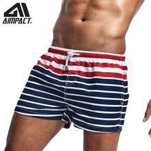 Новые Модные Полосатые мужские шорты для плавания купальные