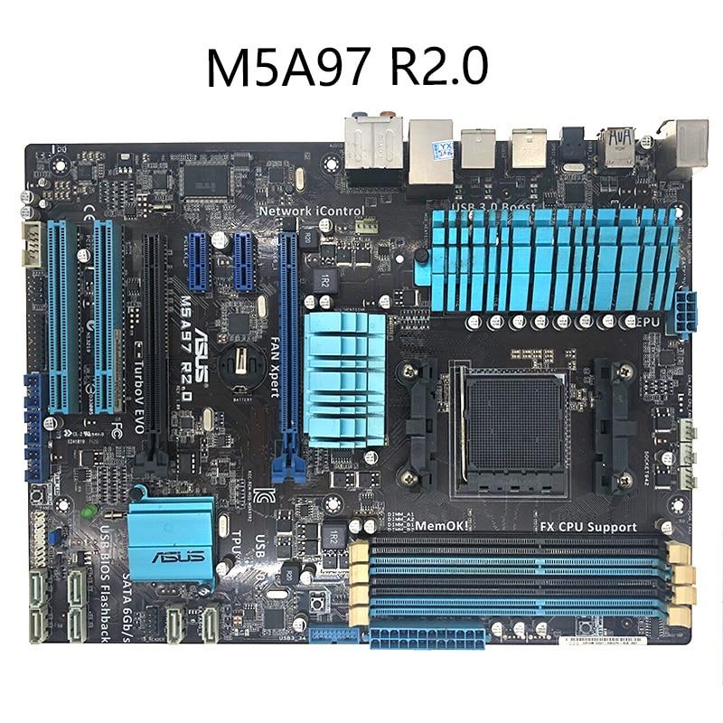 ASUS M5A97 R2.0 motherboard Socket AM3+ DDR3 USB2.0 USB3.0 32GB 970 desktop motherboard Motherboards  - AliExpress