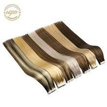 [Highlight] Ugeat лента для наращивания человеческих волос 12-24