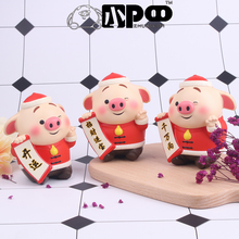 Hot Sale High Quality PU Foam Animal Slow Rising Pig Squishy Doll цена 2017