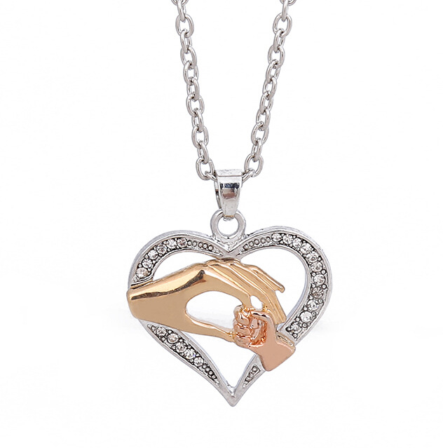 Women Necklace Chain Link Chain Silver Padlock Pendant Fashion Gothic Jewelry Golden 2020