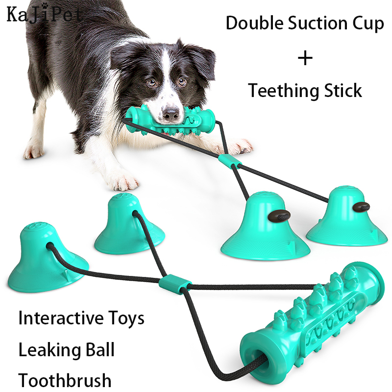 TPR Pet Dog Toy Toothbrush Chew Toy For Dogs Small Large Puppy Toys Sucker Toys Teething Stick Toy Dog Accessories Biting Toy