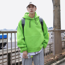 Мужская Мода Тренд пуловер Толстовка Повседневная хлопковая одежда пальто Мужская Уличная Свободная Толстовка большие размеры M-5XL