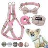 Soft Dog Harness and Leash Set Adjustable Nylon Chihuahua Dog Collar For Small Medium Dogs Pet Products Walking 1
