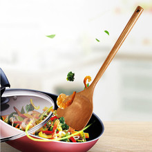 Hand-Wok-Shovel Cookware Scoop Spatula Kitchen-Supplies-Accessories Wooden Long-Handle