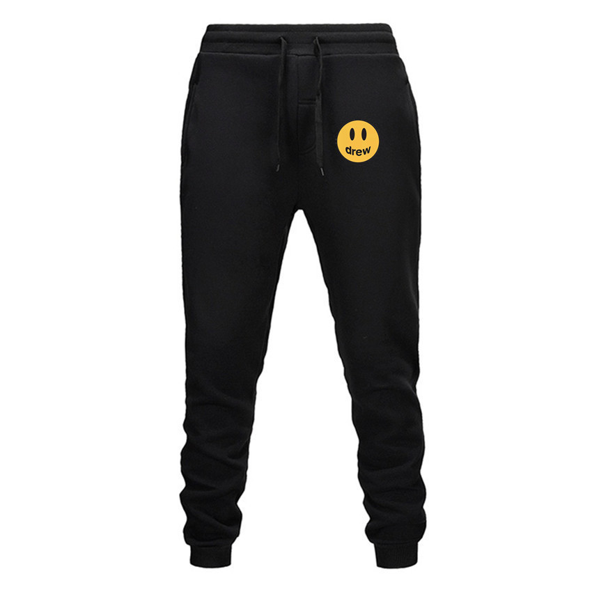2019 Fashion Men Drew Gyms Pants Hoodie Fitness Casual Long Pants Men Workout Skinny Sweatpants Joggers Tracksuit Cotton Trouser