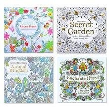 Livre de coloriage océan aventure Inky pour enfants et adultes, 1 pièce de 24 Pages, anti-Stress, tuer le temps, peinture, dessin, livre d'art