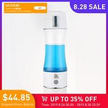 SYNTEAM 350ml Hydrogen Water Bottle Rich Hydrogen Water Generator Hydrogen Water alkaline Maker Water Cup H2 Ionizer Anti-Aging