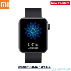 New Xiaomi Mi Watch MIUI Android Smart Watch color Bluetooth 4.2 multifunctional watch with NFC A Ture Smart Wtach