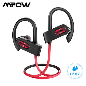 Image 1 - Mpow Flamme 2 Bluetooth 5,0 Kopfhörer Drahtlose Kopfhörer Mit Mikrofon IPX7 Wasserdicht 13H Spielzeit Für iPhone X 7 Xiaomi telefon
