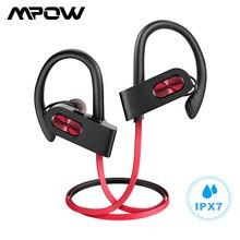 Mpow płomień 2 Bluetooth 5.0 słuchawki bezprzewodowe słuchawki z mikrofonem IPX7 wodoodporny 13H czas odtwarzania dla iPhone X 7 telefon xiaomi
