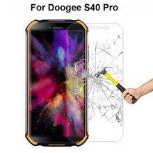 Para doogee s40 pro proteção de vidro à prova de explosão frente vidro temperado fordoogee s40 pro protetor de tela pelicula de vidro