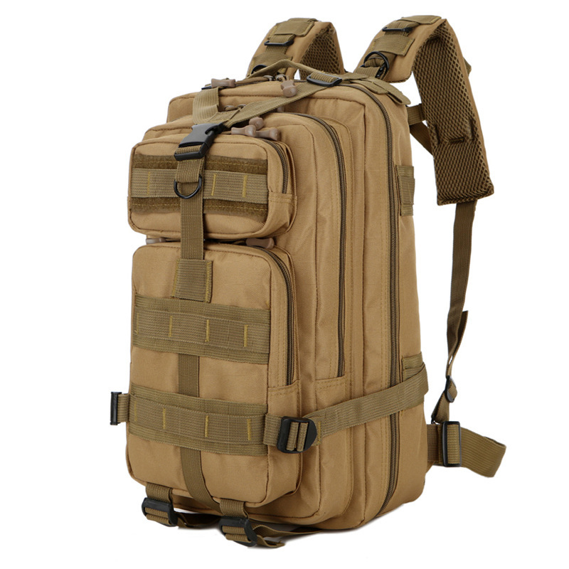 Manufacturers Currently Available Batch Hot Selling Army Fans Tactical Bag Outdoor Sports Hiking Bag 30L Oxford Waterproof Camou