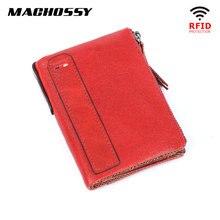 RFID Wallet Men Genuine Leather Wallet C