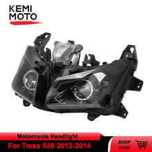 For Tmax 530 Motorcycle Headlight Lamp Headlamp Front Head Light With E-mark For Yamaha tmax 530 Tmax530 T max530 2012 2013 2014 цена в Москве и Питере