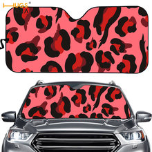 Sunshade Aluminum Uv-Protect for Car-Windshield Muilt-Color Leopard Foldable