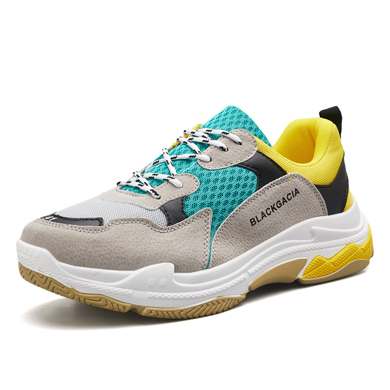 2018 New Style COUPLE'S Rubber Shoes Sneakers Wearable Running Shoes Casual Shoes Fashion Running Shoes INS Hot Selling Retro Ru
