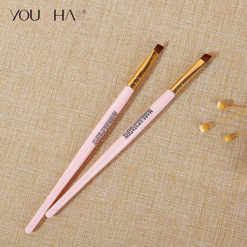 YOUSHA Eyebrow Makeup Brush Eyeshadow Brush Face Professional Eye Shadow Cosmetic Make Up Brushes Cute Beauty Accessories Tool
