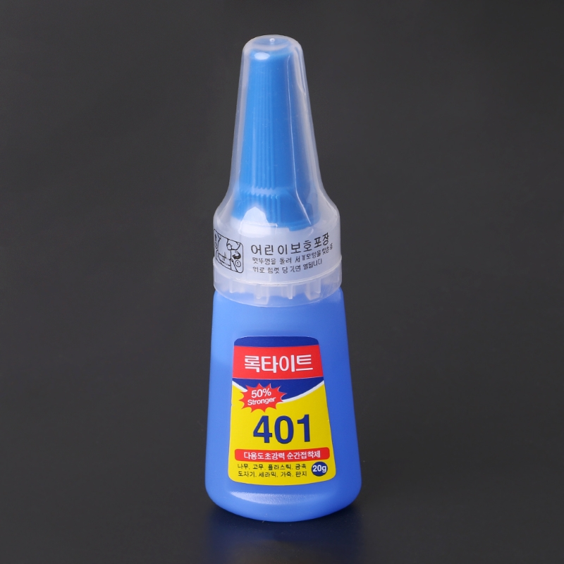 Sporting 401 Rapid Fix Instant Fast Adhesive.20g Bottle Stronger Super Glue Multi-purpose Relieving Heat And Sunstroke