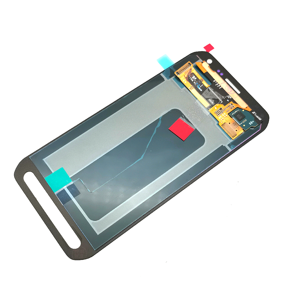 """5.5""""супер AMOLED ЖК-дисплей для Samsung Галактика S6 активный G890 G890A ЖК-дисплей с сенсорным экраном дигитайзер Ассамблеи"""