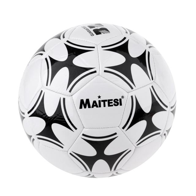 Durable Football Soccer Ball 3 Standard Football Training with Net Needle