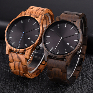 Image 2 - DODO DEER Men Wood Watch Stylish Simplicity Calendar Quartz Sport Male Relogios Masculino Wristwatches Men Shock Gift for Him