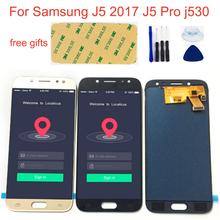 Regulowany LCD do Samsunga J5 2017 dotykowy LCD J5 Pro j530 SM-J530F J530FN J530M J530Y DS wyświetlacz LCD + ekran dotykowy montaż ekranu tanie tanio AGWSUSI Pojemnościowy ekran Nowy For Samsung J5 2017 J5 Pro j530 SM-J530F SM-J530FN SM-J530M-J530Y DS LCD i ekran dotykowy Digitizer