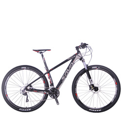 SAVA Mountain Bike Carbon Fiber Mountain Bike 29 inches Adult Mountain Bike with SHIMANO DEORE 30S Bicycle For Adult 29 mtb