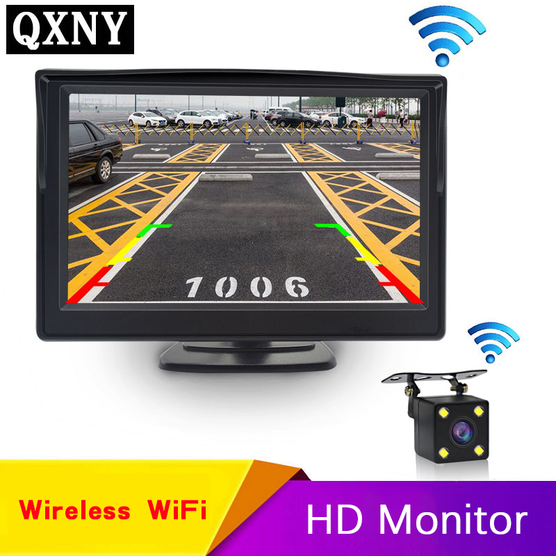 Car Rear View Camera Wifi Wireless Wiring Kit 2.4GHz DC 12V Vehicle Cameras Wireless Transmitter/Receiver Easy Installation|Vehicle Camera| - AliExpress