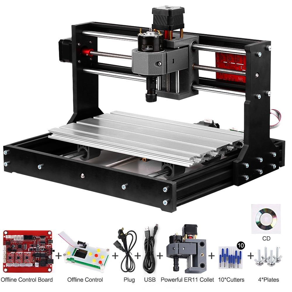 Image 2 - laser engraver CNC Laser Engraver CNC Laser Cutter Engraving Machine Laser Printer DIY 3 Axis Pcb Milling MachineWood Routers   -