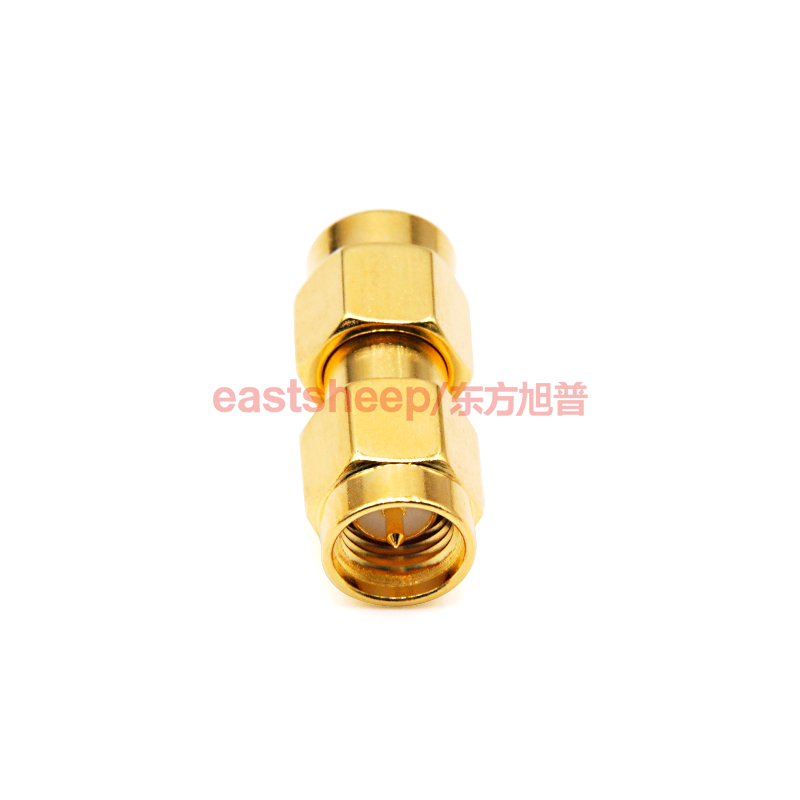 eastsheep SMA-JJ Adapters Male to Male Plug RF Coaxial Adapter Connector plug to plug sma connectors 4