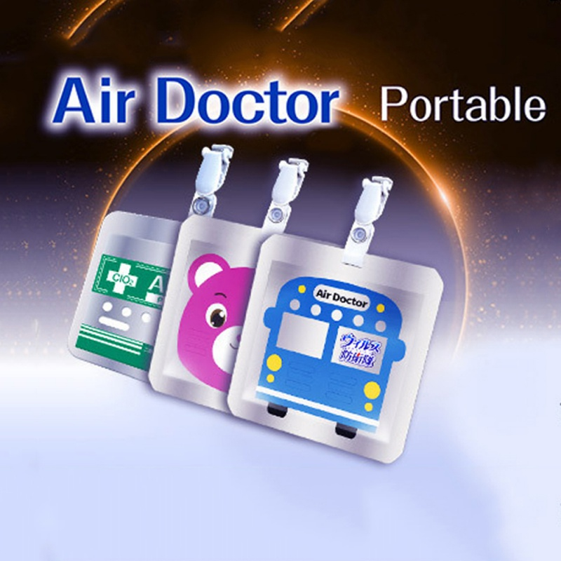 Air Sterilization Card Disinfection Sterilization Lanyard Protection Card Home Cleaning Outdoor Disinfectant Supplies 2020