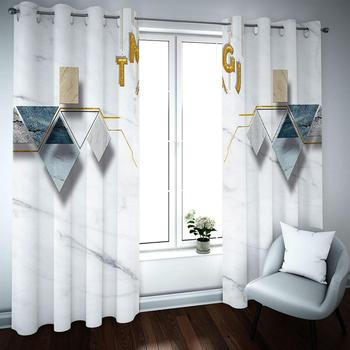 Blackout Curtains Drapes Modern Curtains For The Living Room Bedroom Customized Kitchen Curtains
