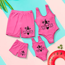 2020 Mother Daughter Swimwear One-Piece Mommy and Me Swimsuit Family Look Matching Outfits Mom Mum Daughter Dresses Clothes family matching bikini mother and daughter swimsuit mommy and me swimwear clothes outfits look mom mum baby dresses clothing