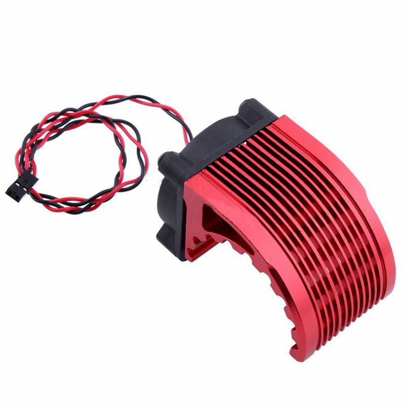 40*<font><b>40mm</b></font> Heatsink Fin DC <font><b>5V</b></font> <font><b>Fan</b></font> Cooling For Hobbywing Leopard RC Brushless Motor Engine 42mm 1515 812 T8 K80 K82 image
