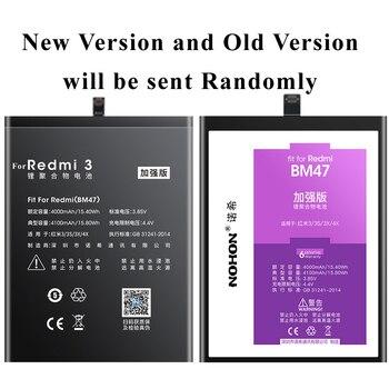 Аккумулятор Nohon 4100 мАч для телефона Xiaomi Redmi 6