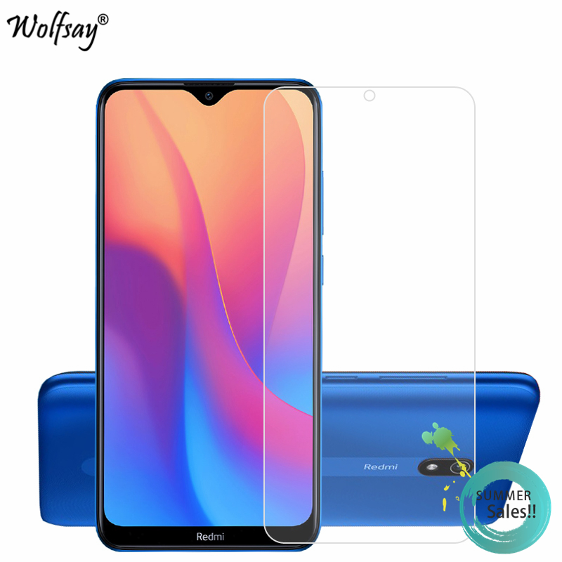 2PCS Glass For Xiaomi Redmi 8A Screen Protector Tempered Glass For Xiaomi Redmi 8A Glass Phone Film For Xiaomi Redmi 8A HD Film