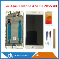 Original For ASUS Zenfone 4 Selfie ZB553KL X00LD X00LDA LCD Display With Touch Screen Digitizer Assembly With Frame With Kits