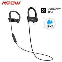 Mpow D9 Bluetooth 5,0 Drahtlose Kopfhörer 16 18H Spielzeit ipx7 Wasserdichte Sport Kopfhörer Unterstützung APTX Für Android iPhone samsung
