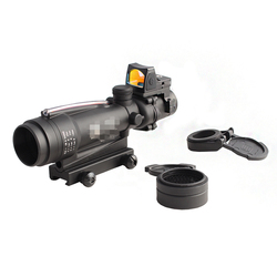 Зеркало для винтовки TA11 TA31 Trljicon ACOG, реальный волоконно-оптический прицел, с RMR красной точкой, линза Killflash, протектор прицела,