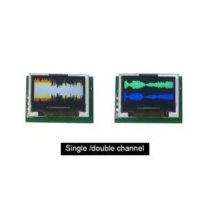 Image 5 - מיני 0.96 אינץ OLED תצוגת ספקטרום מנתח ערוץ כפול צבע מוסיקה ספקטרום תצוגת מודול G4 002