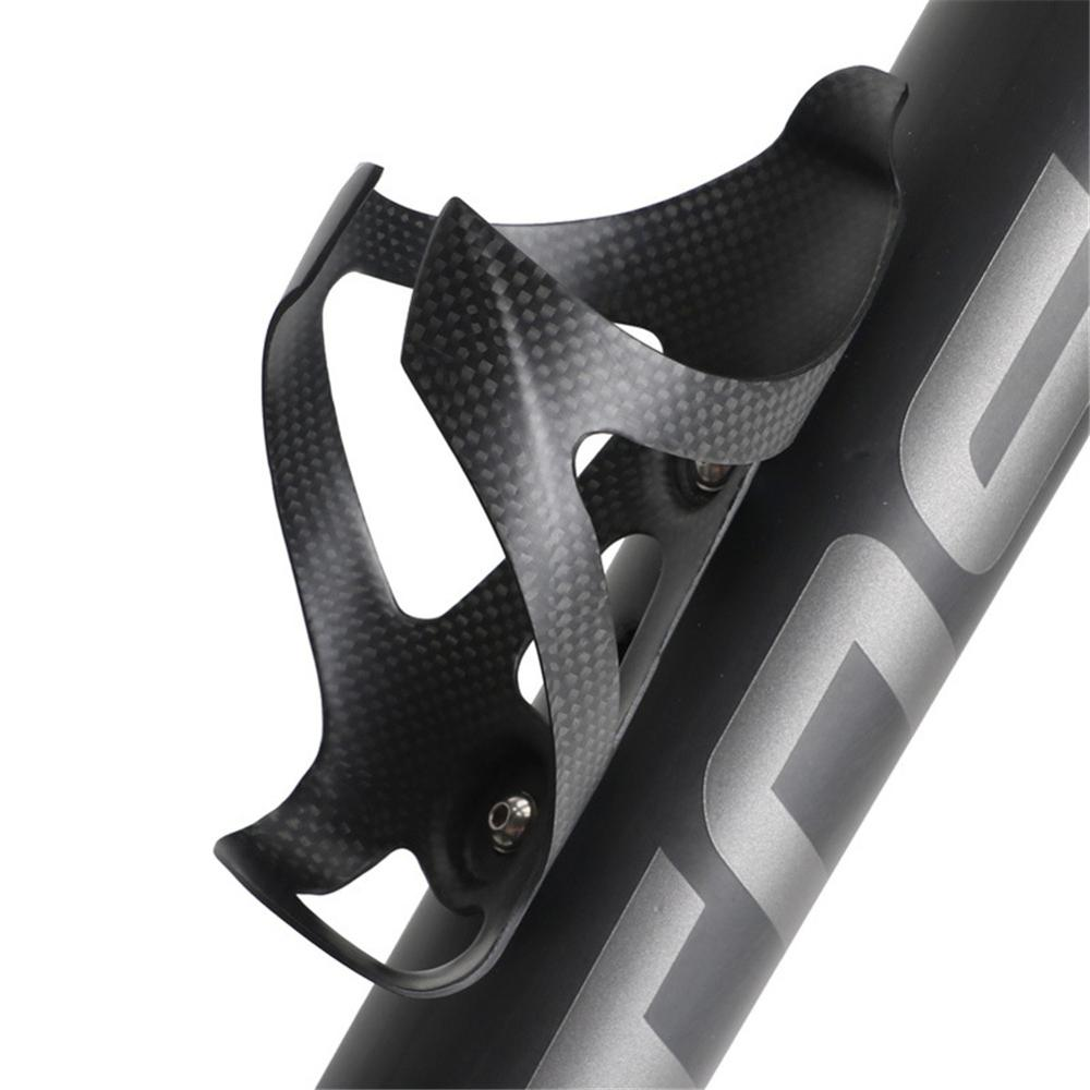 TOSEEK Bicycle Water carbon <font><b>bottle</b></font> <font><b>cage</b></font> MTB Road <font><b>Bike</b></font> Full Carbon Fiber <font><b>Bottle</b></font> Holder Ultra Light Cycle <font><b>Bottle</b></font> <font><b>Cage</b></font> Equipment image