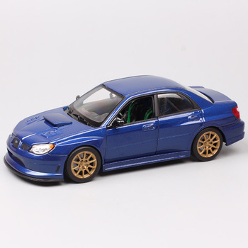 1:24 scales Welly APR Subaru Impreza racing car auto metal Diecasts & Toy Vehicles model miniature baby boys gift for collector image