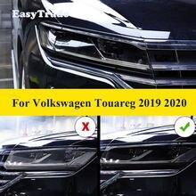 Прозрачная черная пленка из ТПУ для volkswagen vw touareg 2019